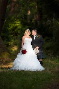 Ann & Andy's Wedding - Culcreuch Castle, Fintry