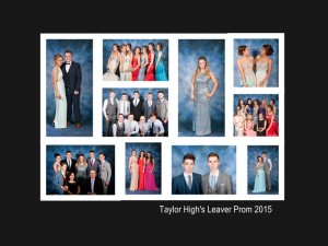 Taylor High Leavers Prom 2015
