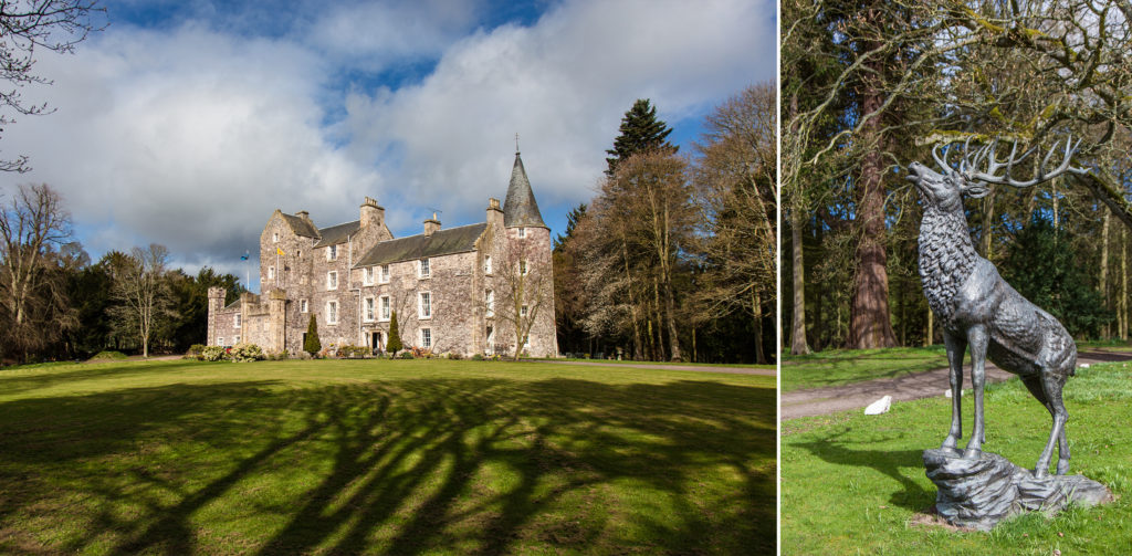 Wedding Photography At Fernie Castle Cupar