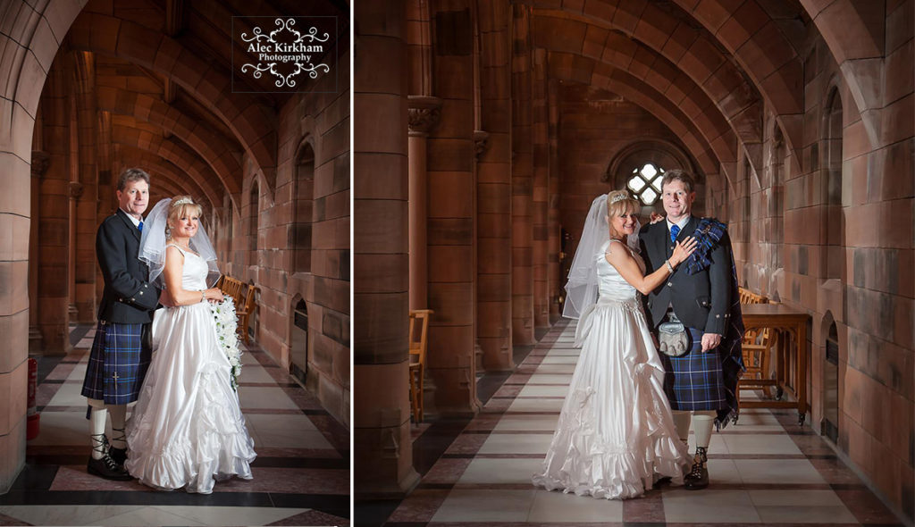 Wedding Photography At Crichton Church Dumfries